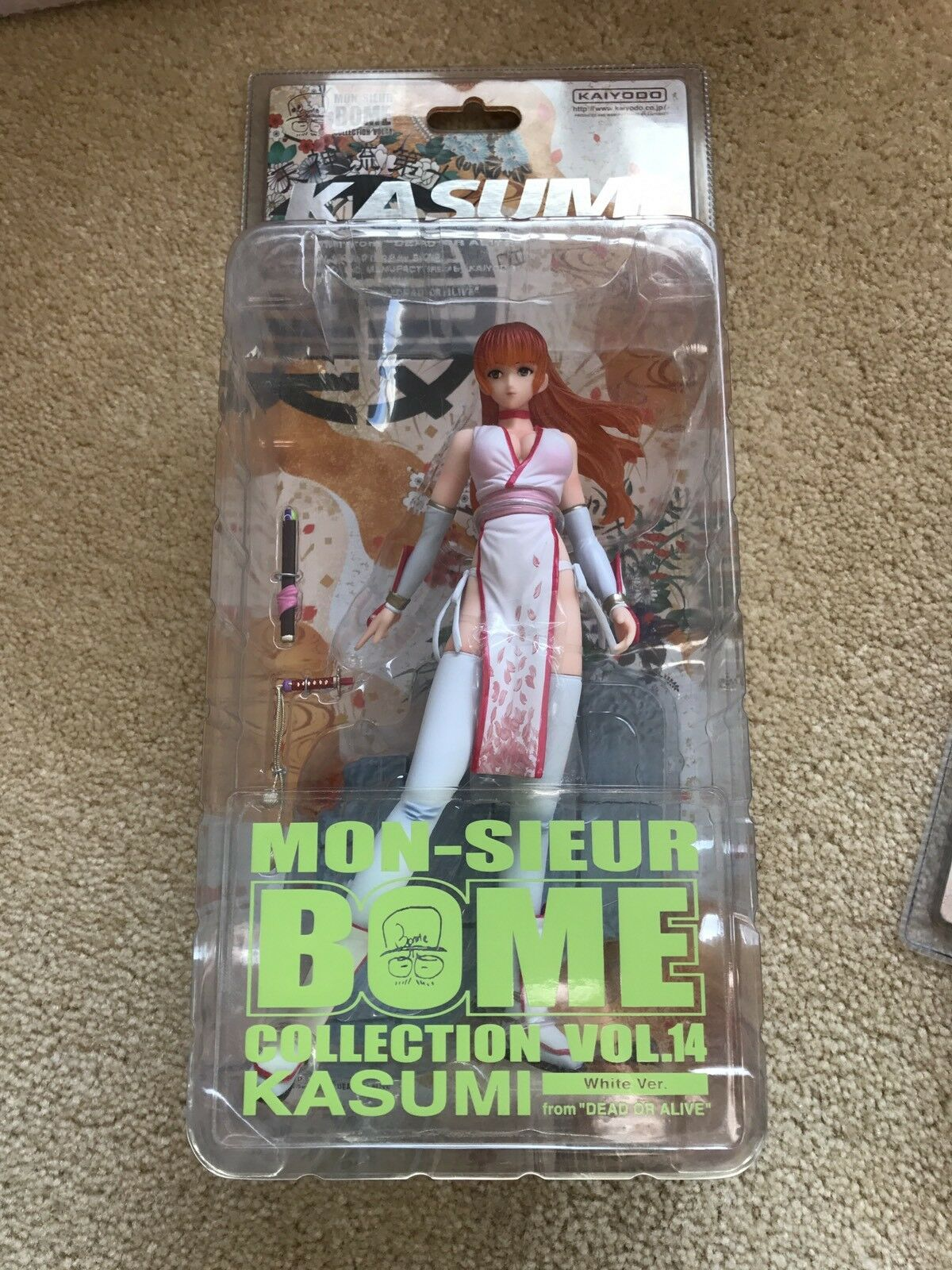 DEAD OR ALIVE C2  Kasumi Kaiyodo BOME Authentic