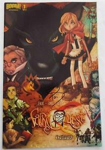 NEW-SIGNED-amp-SKETCH-Paul-Jenkins-Fairy-Quest-01-CVR-A-Outlaws-SDCC-2014