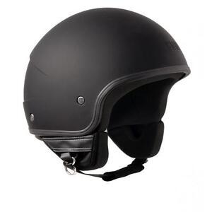 Image Is Loading Jet Helmet CGM Malindi Matte Black Retro