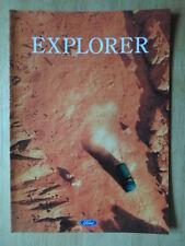 FORD EXPLORER orig 1995 Spanish Mkt sales brochure