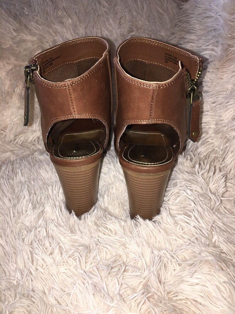Madden Girl 9.5 Naaomii Cognac Stiefel Größe 9.5 Girl Neu df4688