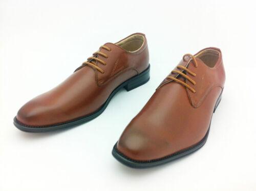 Office Chaussures Homme Habillé Lacets Marron Cuir À Chic Allure Décontracté fTOqv