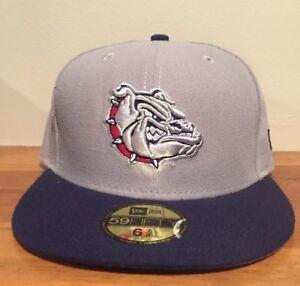 more photos 50fbc 9838d Image is loading Gonzaga-Bulldogs-New-Era-59-Fifty-Low-Profile-