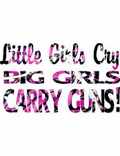 Gun Decal Muddy Girl Camo
