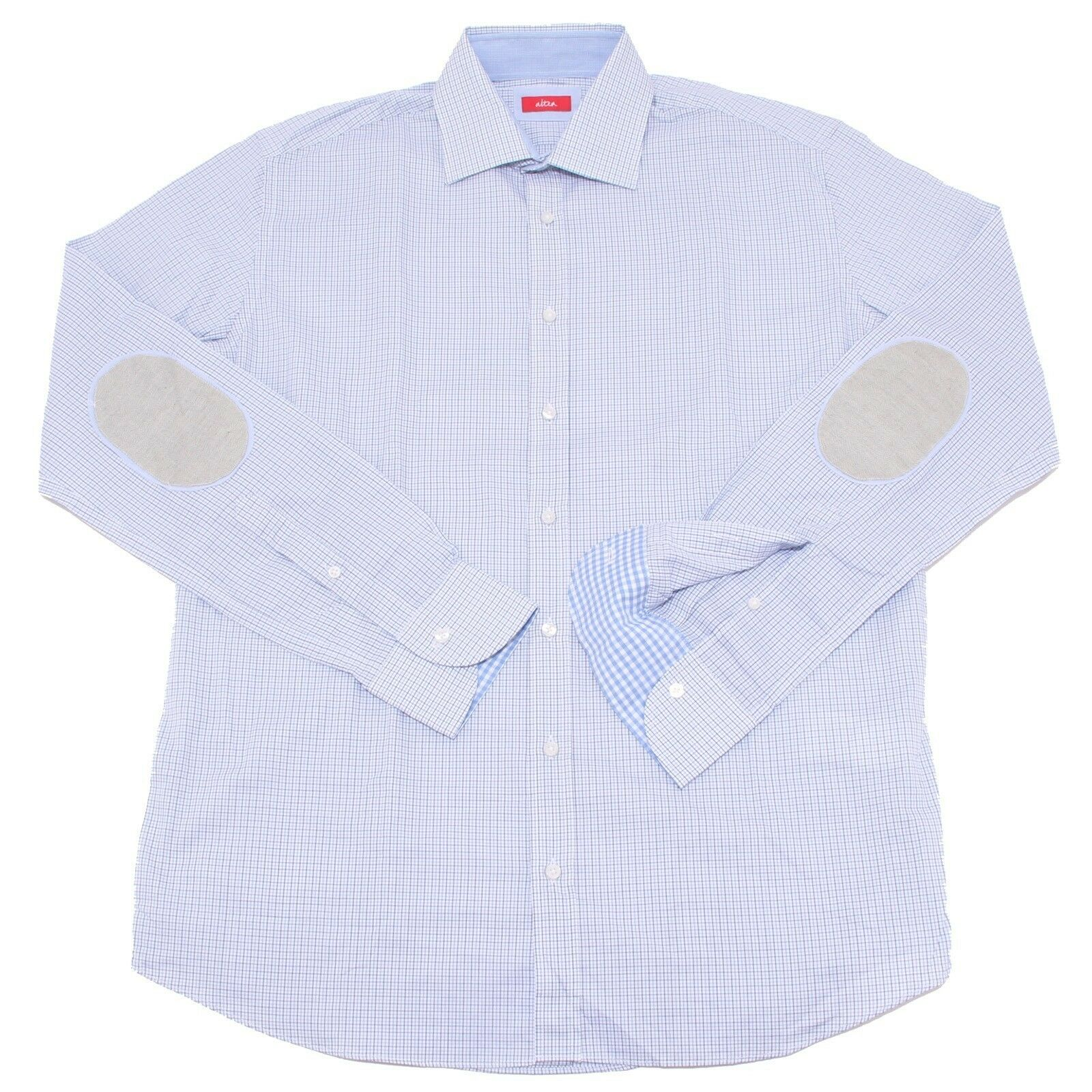 2707P camicia quadretto manica lunga ALTEA uomo shirts men