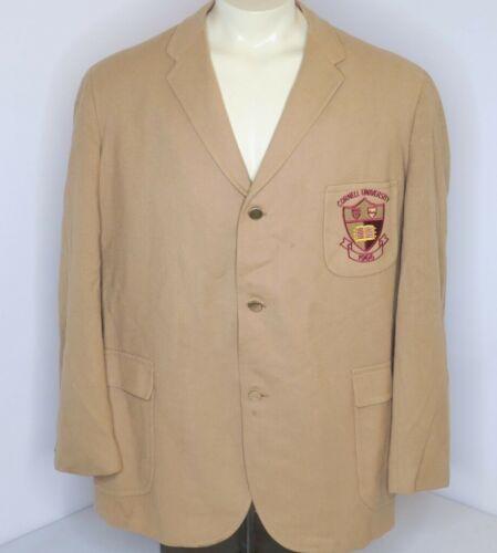 -Rare- 1966 -Cornell University- Vintage Wool Ivy