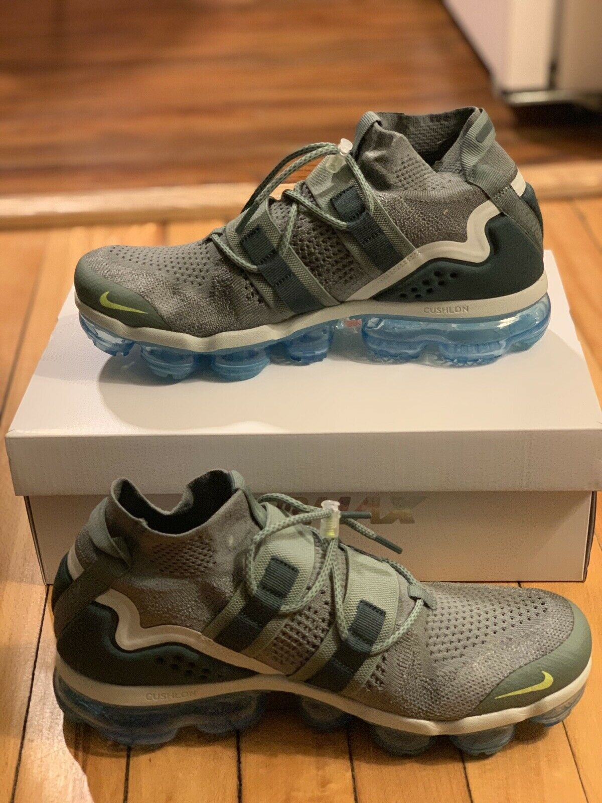 new concept 95a0c ece7f Nike Air Vapormax FK Utility Clay Green Spruce Size Size Size US 10 Men AH6834  300