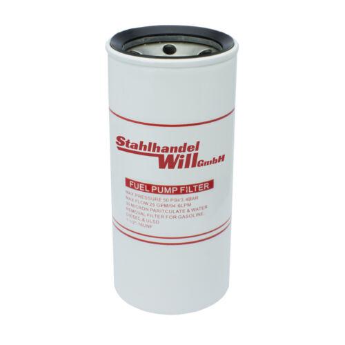 Filteranlage-Pumpe Bagger Hof Tank-Stelle Tiefbau 1Stk Diesel-Filter 1Ltr