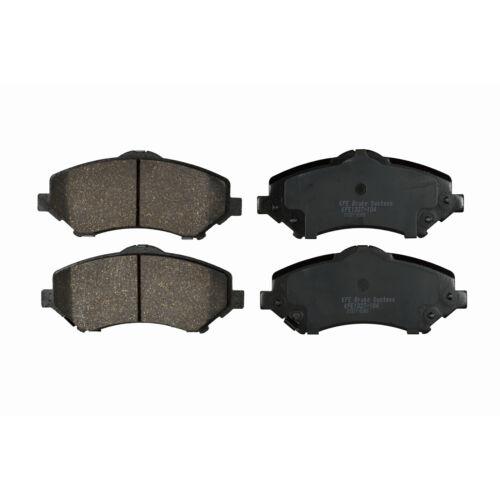 FRONT REAR Premium Ceramic Disc Brake Pad Set Fits Wrangler Liberty KFE1327-1274
