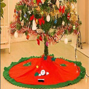 DELUXE-CHRISTMAS-TREE-SKIRT-FLOOR-MAT-XMAS-HOME-FESTIVE-DECORATIONS-DECOR-PARTY