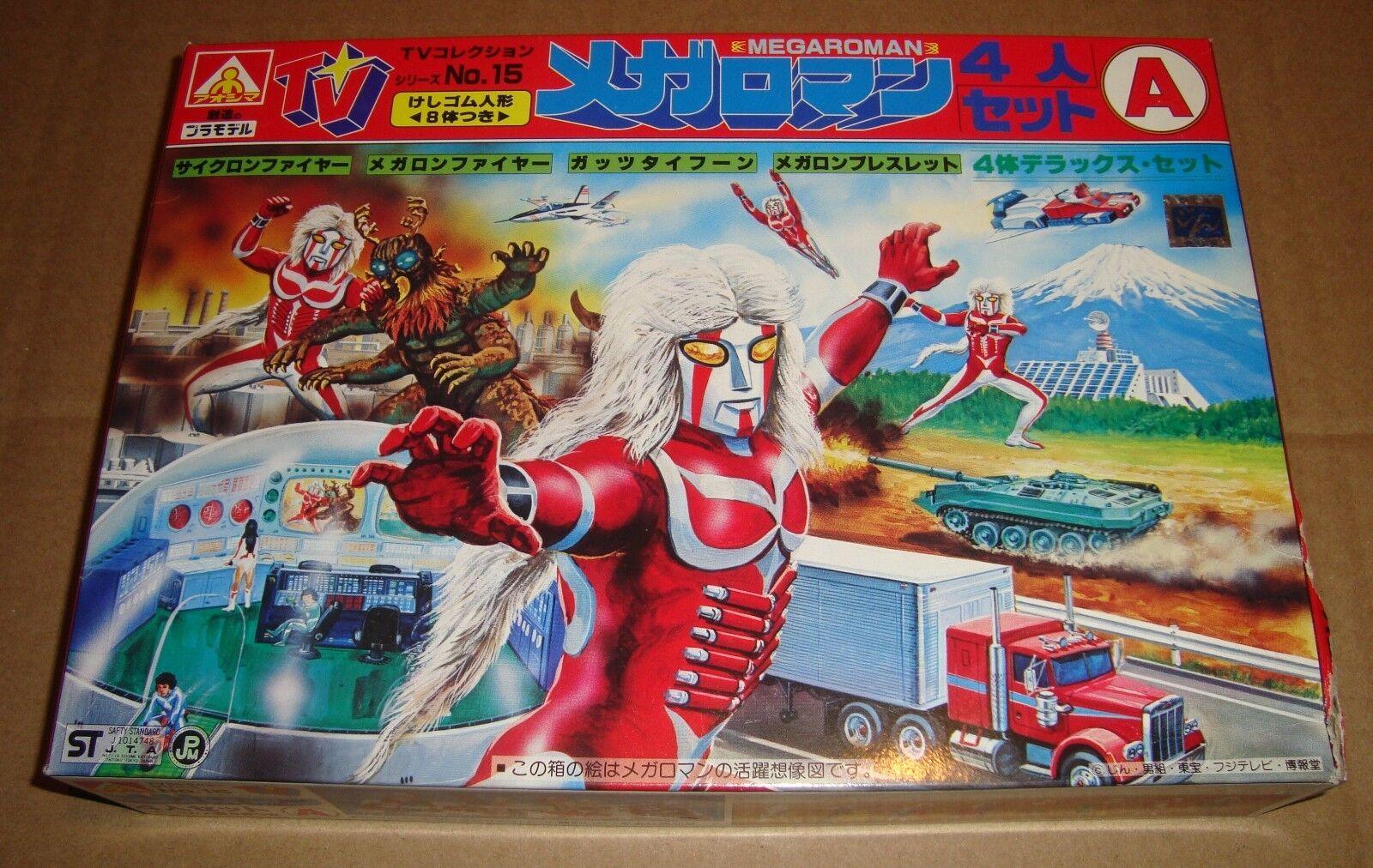 AOSHIMA TV COLLECTION No.15 MEGALOMAN PLASTIC KIT AOSHIMA 1979
