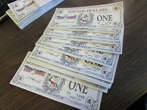 VINTAGE LOT 12 CONSECITIVE TOP DOG DOLLARS 1996 SERIES ...