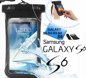 Custodia-subacquea-impermeabile-Galaxy-S6-S5-S4-Cover-mare-sub-laccetto-collo