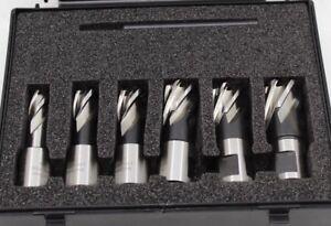 Evolution Schneider Set Magnétique Foret 6 Pièces + Appuyez Sur Guide 12-22mm