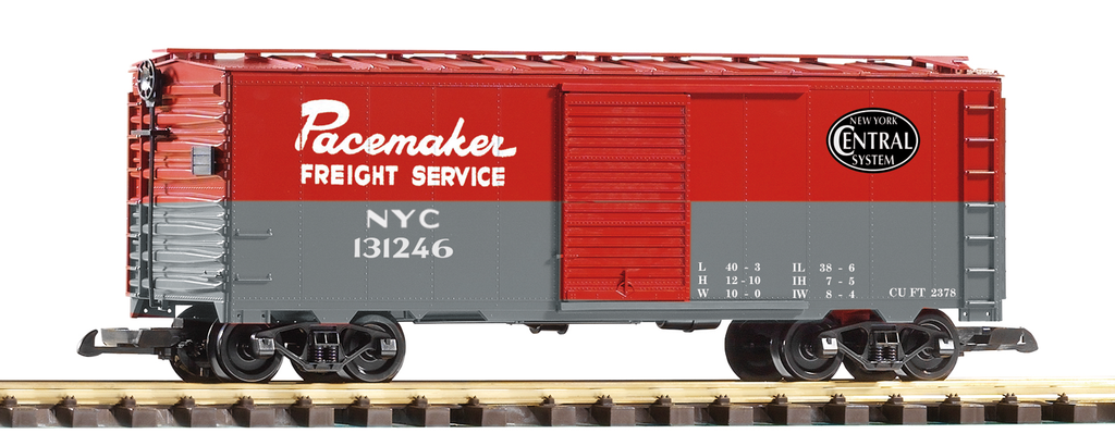 Piko G Scale 38818 NYC Pacemaker Steel Boxcar (G-Scale) HH