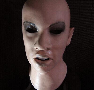 Genossenschaft Latexmaske Angelina + Wimpern Real. Frauenmaske Gummimaske Frau Zofe Trans Tgirl StäRkung Von Sehnen Und Knochen