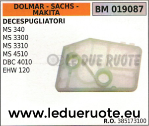 Details about 385173100 AIR FILTER TRIMMER DOLMAR SACHS MAKITA MS 340 3300  3310 4510