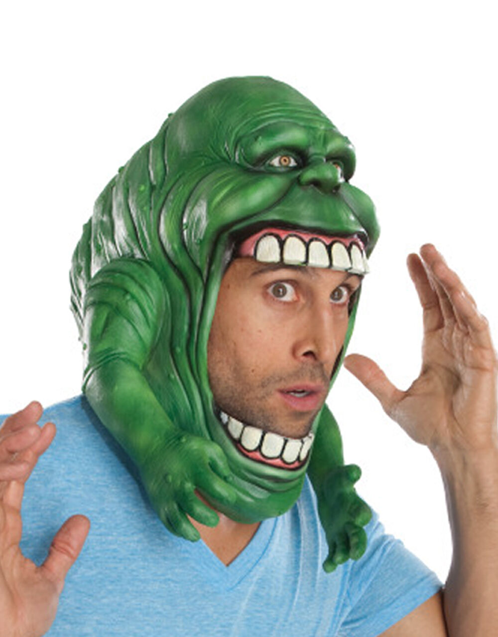 Slimer Headpiece, Headpiece, Headpiece, Mens Ghostbusters Costume Accessory | Charmantes Design  | Bekannt für seine gute Qualität  | Starke Hitze- und Abnutzungsbeständigkeit  3ea14c