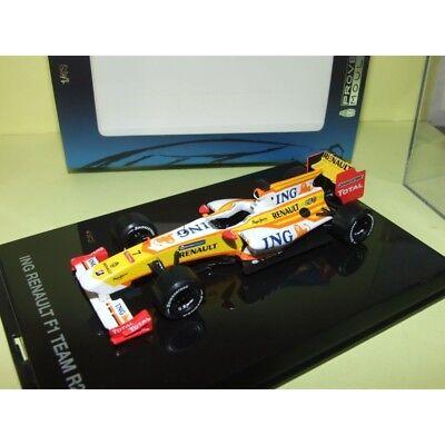 car 1//43 MINICHAMPS  ING RENAULT R29 #7 RACE CAR 2009 ALONSO NEW BOX