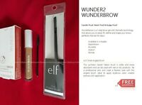 Wunderbrow Wunder2 Perfect Eyebrow Pick Your Shade + E.l.f. Small Angled Brush