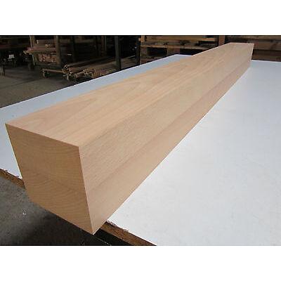 1 Buche Tischbein 95x95x1000mm 4-seitig gehobelt  Kantholz Leimholz