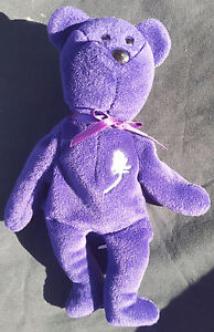 Princess Diana Beanie Baby Rare Pvc Pellets No Tag Ebay