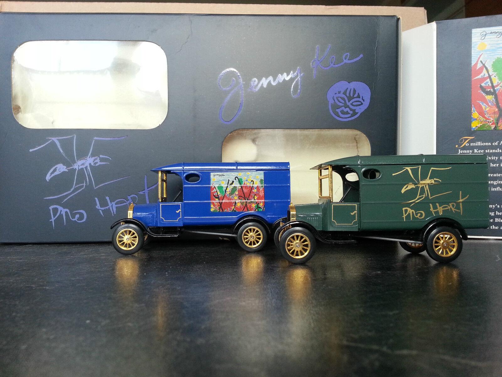 Matchbox pro duro Australian Art Set ford TT nº 17 1000 Jenny Kee yy-21
