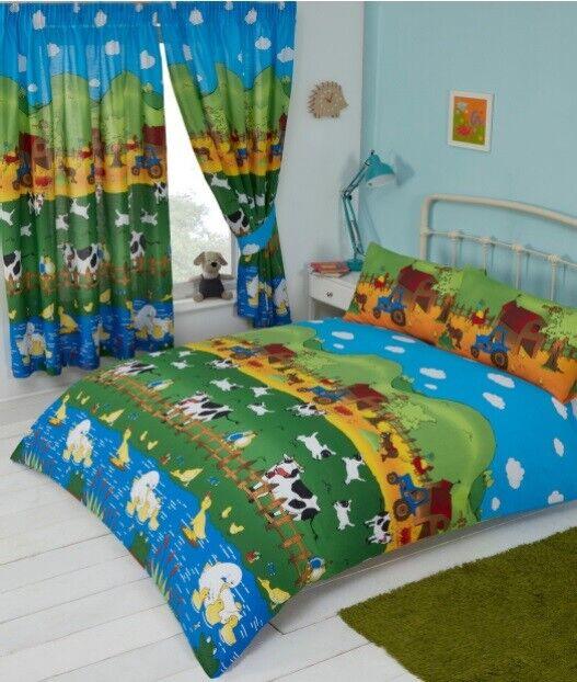 Marvel Comics Retro UK Junior//US Toddler Duvet Cover and Pillowcase Set