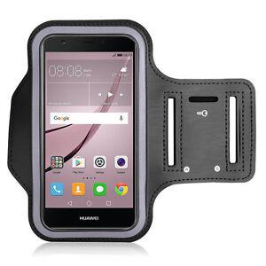 Accessoire-Etui-Housse-Coque-Armband-Brassard-De-Sport-NOIR-Pour-Seri-Huawei