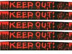 6m Halloween Party Warning Tape Banner Fright Garland Scene Decoration 11624 Keep out