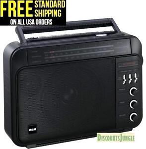 RCA-RP7887-Super-Radio-3-AM-FM-High-Performance-Super-Radio-III-Receiver-BLACK