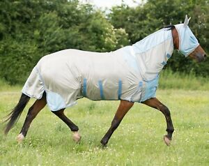 Galop-Mesh-Full-cou-Combo-All-In-One-PONY-Tapis-fly-belly-amp-Queue-Rabat-Libre-Masque