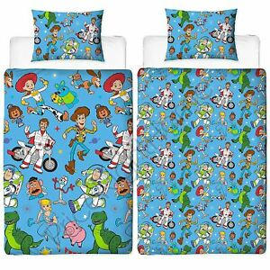 Details about TOY STORY 4 RESCUE SINGLE DUVET COVER SET ROTARY REVERSIBLE  BEDDING