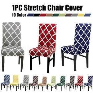 Prime Details About 1 2 4 Stretch Dining Room Chair Cover Party Wedding Banquet Hotel Seat Slipcover Machost Co Dining Chair Design Ideas Machostcouk