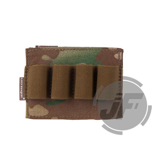 Emerson Tactical MOLLE Shotgun Shell Pouch Glow Light Stick Quick Access Pouch