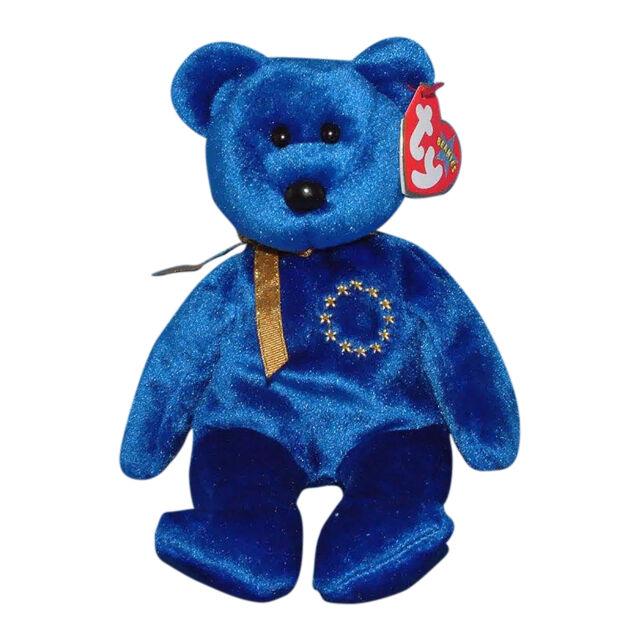 Ty Beanie Baby Unity The Bear RARE Tag Error Born Sep 28 2000 for ... 39f00cf06205
