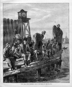 FISHING ON THE DOCKS OF NEW YORK, GREAT DOCK FISHERIES
