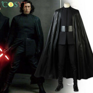 Kylo Ren Cosplay Costume Star Wars The Last Jedi Cosplay Props Costume Full Set Ebay
