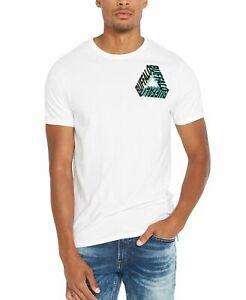 Buffalo David Bitton Mens T-Shirt White Size Large L Graphic Tee $29- 439