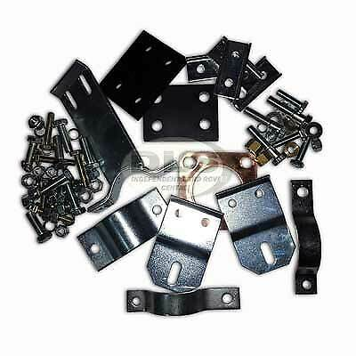 Land Rover Series 2//2a//3 SWB RHD DA1293 Full Exhaust Clamp and Fitting Kit New