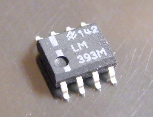 National Semiconductor 100x lm393m Dual Precision Voltage comparateur