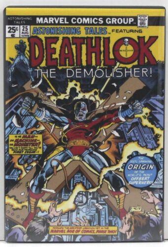 "Deathlok! Astonishing Tales #25 Comic Book Cover 2/"" X 3/"" Fridge Locker Magnet"