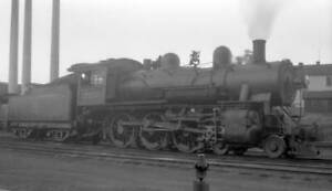 Chicago Milwaukee St Paul & Pacific Railroad locomotive, No 2751 OLD TRAIN PHOTO