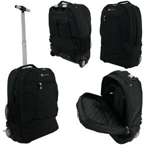 a roulettes sac dos pour ordinateur portable mallette valise de cabine. Black Bedroom Furniture Sets. Home Design Ideas