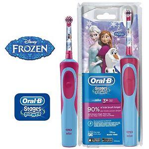 Braun Oral B Vitality Kids Disney Frozen Electric