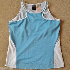 Size XL Original Nike Women Ladies Dri-Fit Vest with Bra Sleeveless Shirt Jersey