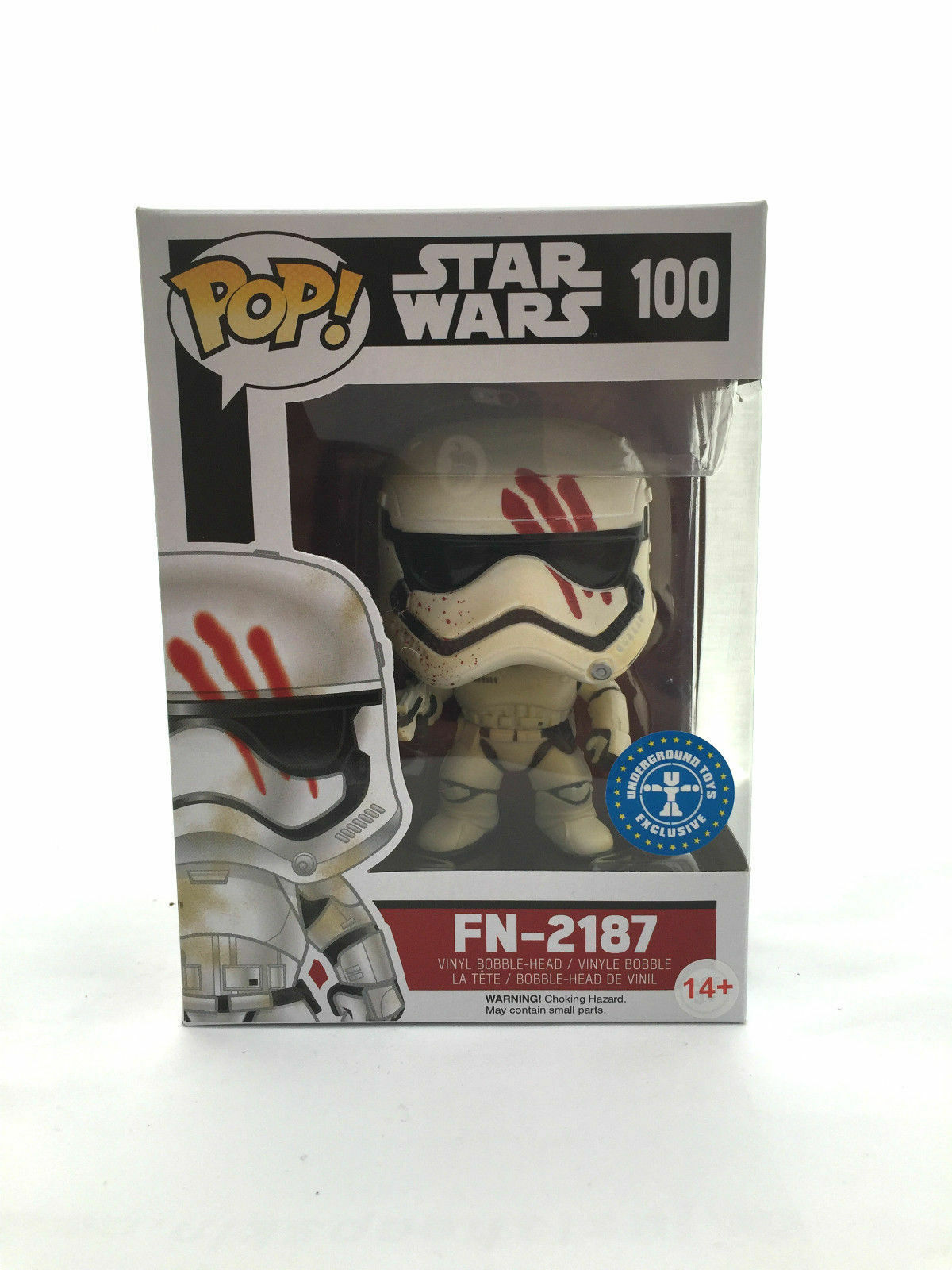 Funko POP  Movies - Star Wars The Force Awakens FN-2187 with Blood Smear