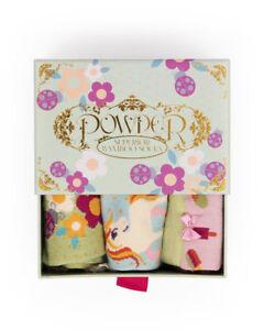 ddd83df7bb5 Gorgeous Ladies Girls Powder Design Ladybird 3 Pairs Socks in Gift ...