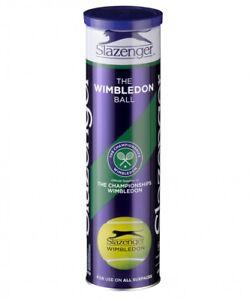 OFFICIAL-SLAZENGER-WIMBLEDON-TENNIS-BALLS-1-CAN-3-BALLS-BRAND-NEW-SEALED