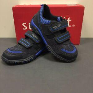 Superfit Childrens Kids 0-00224-03 Sport 4 Shoes Black Blue Combi